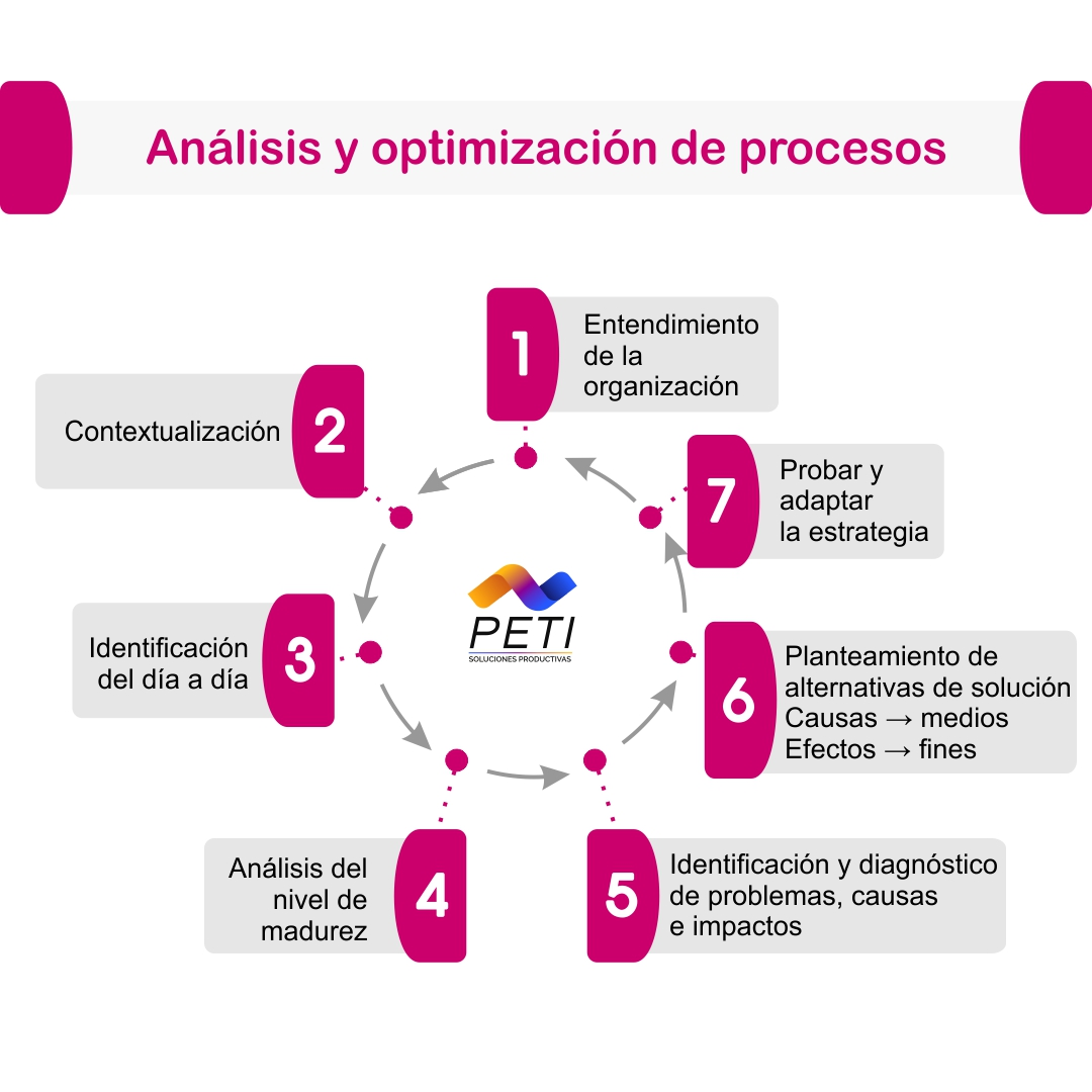 PETI Ejecucion Corporativa Analisis Optimizacion Procesos
