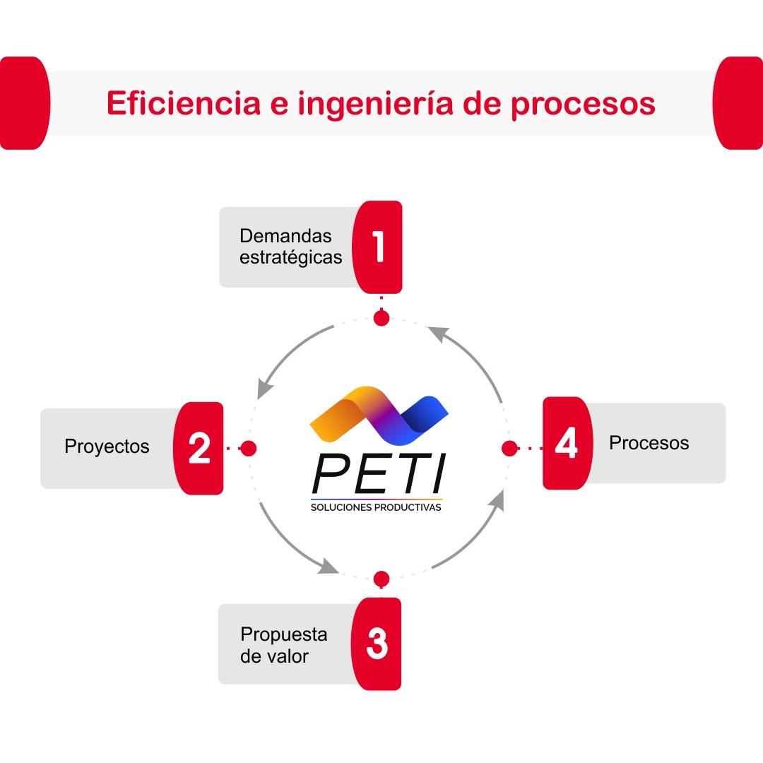 PETI Ejecucion Corporativa Eficiencia Operaciona Analisis Procesos