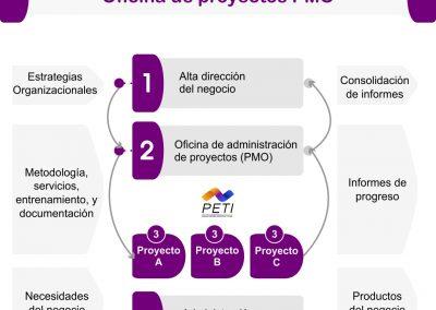 Implementación de oficina de proyectos PMO