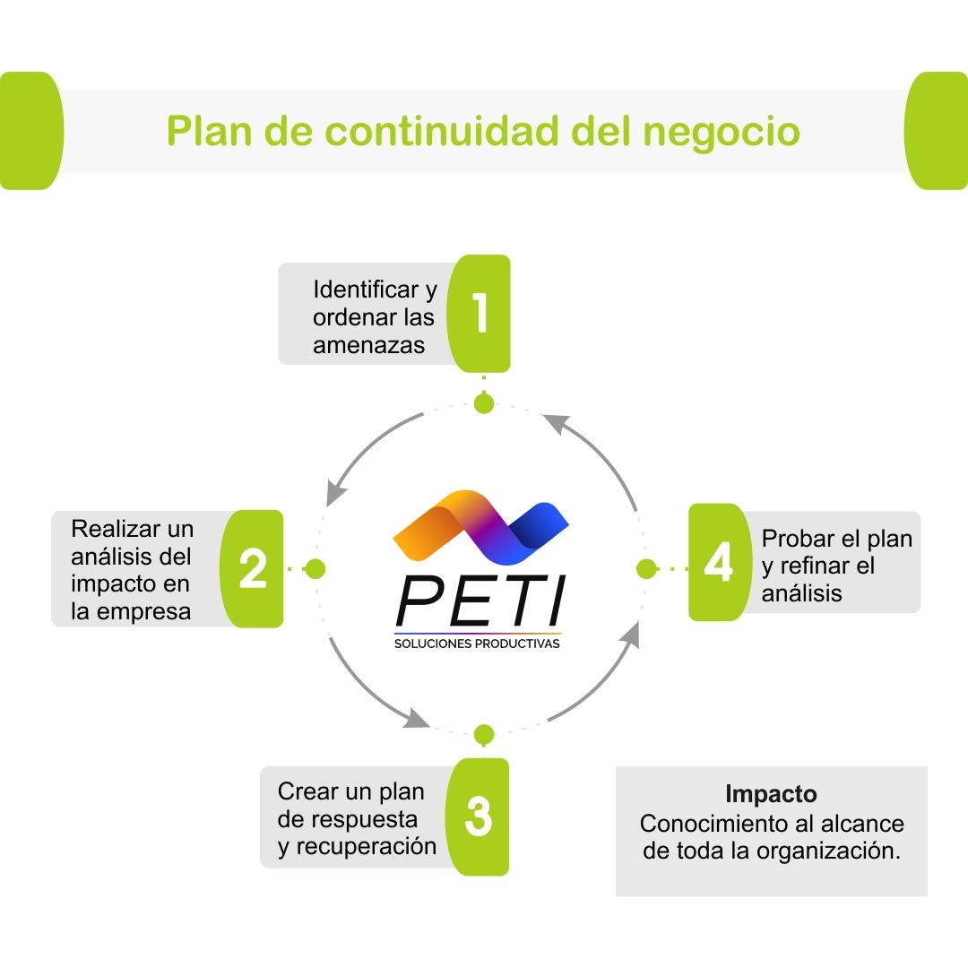 PETI Estrategia Organizacional Plan Continuidad Negocio