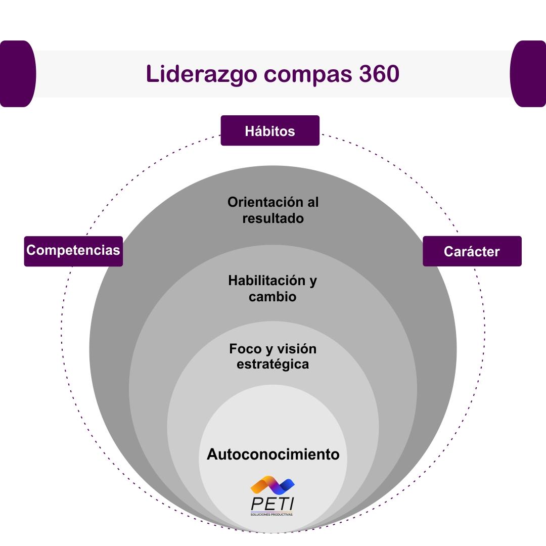 Liderazgo de alto impacto Compas 360