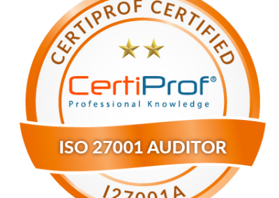 Certified ISO 27001 Auditor