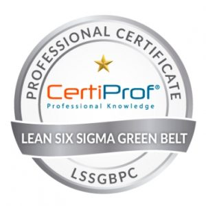 PETI Formacion Lean Six Sigma Green Belt Certificador 1