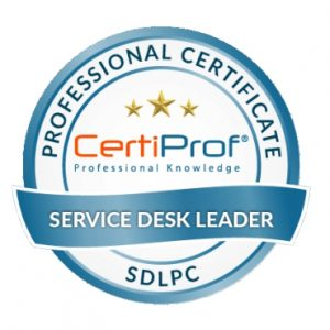 PETI Formacion Service Desk Leader Certificador