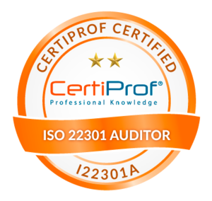 Certified ISO 22301 Auditor