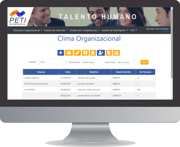 PETI Talento 360 Clima Organizacional