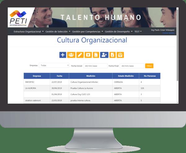 PETI Talento 360 Cultura Organizacional