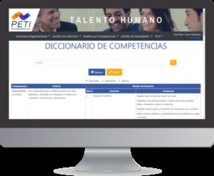PETI Talento 360 Diccionario Competencias