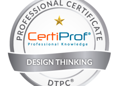 Design Thinking Professional Certificate  DTPC  CertiProf 370x